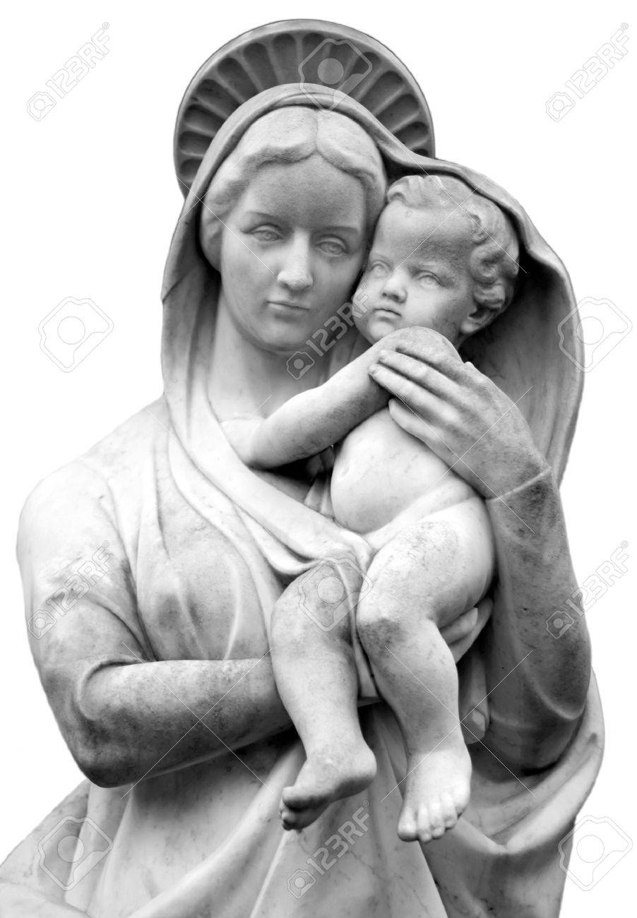 Virgin Mary with Baby Jesus Stock Photo - 7807498