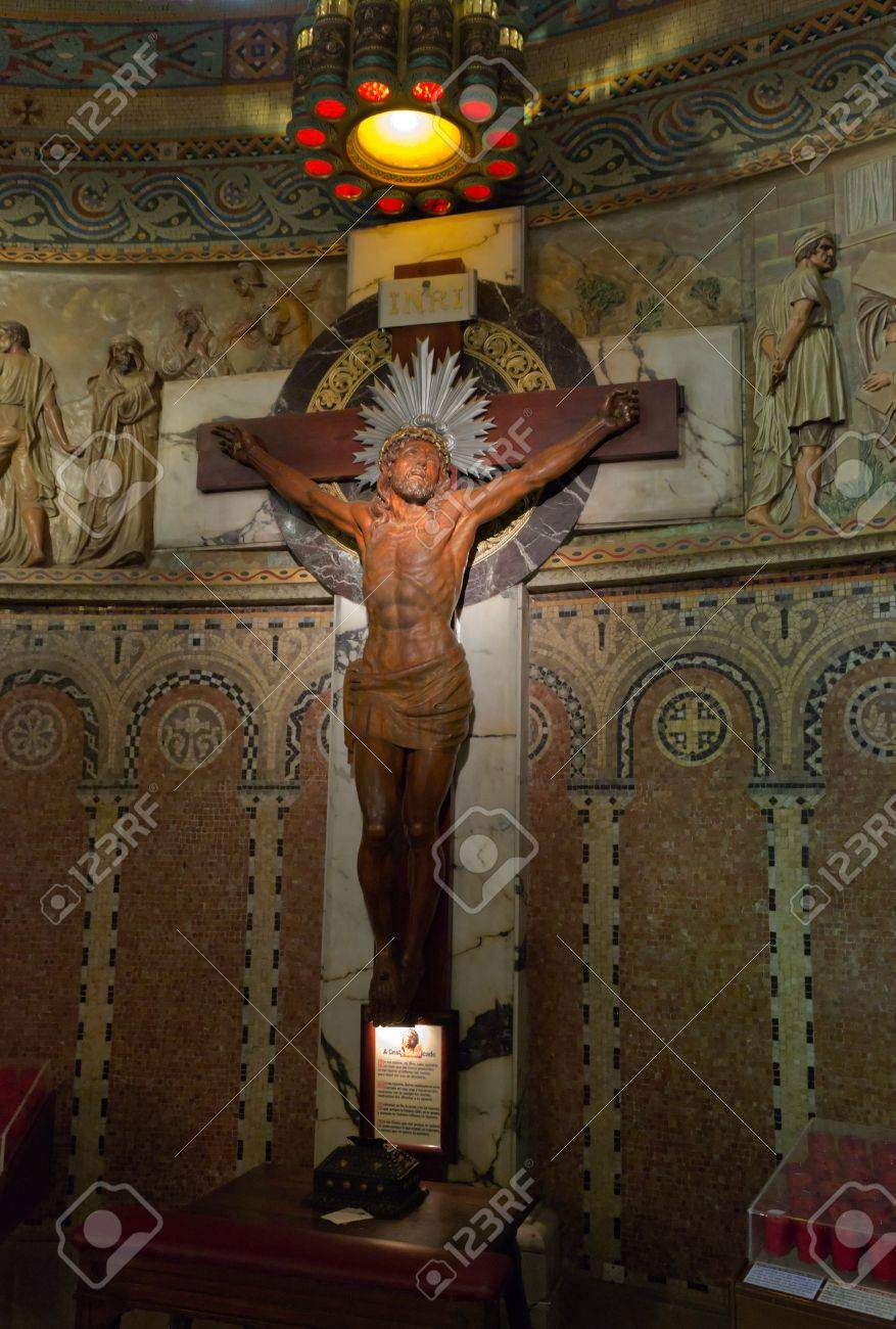 jesus christ crucifixion interior temple of atonement of the