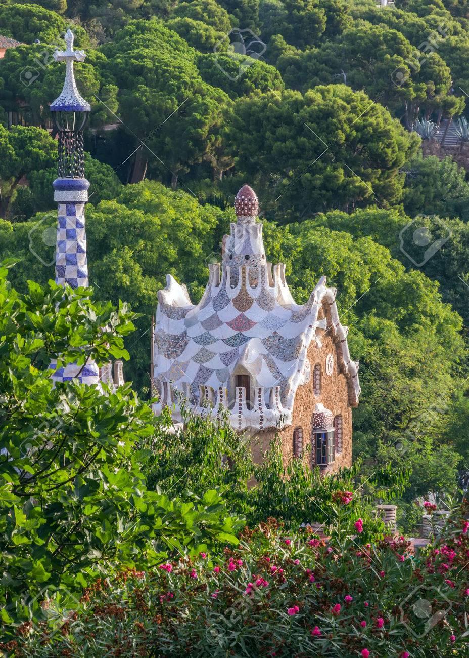 Faszinierend Mosaik Garten Beste Wahl Im Im Parc Güell Von Antoni Gaudi