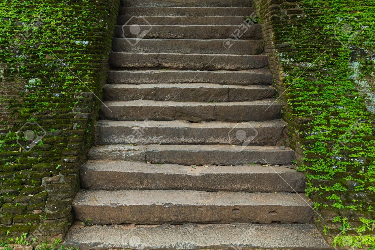 Stone Old Stairway Architecture Design Granite Stairs Stock Photo Picture And Royalty Free Image Image 114408760