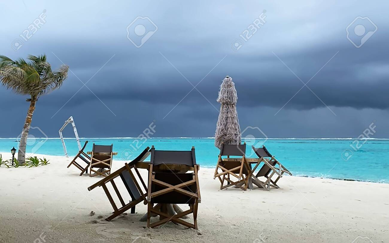 Outdoor Natural Gas Fire Pit Table, Maldives Atoll Island Beautiful Beach Landscape Crystal Clear Stock Photo Picture And Royalty Free Image Image 153459442