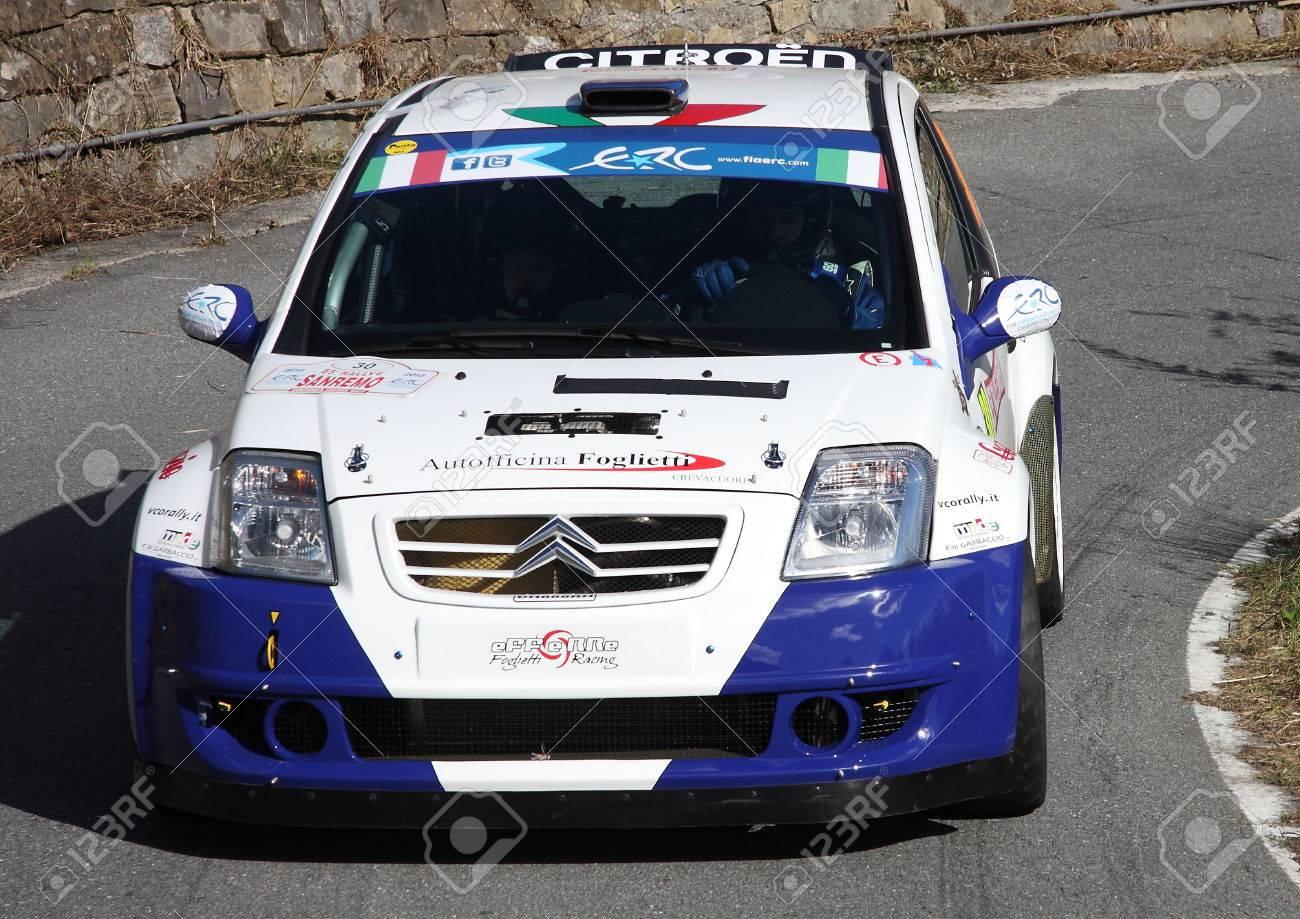 Car Racing Citroen C2 Rally Sanremo