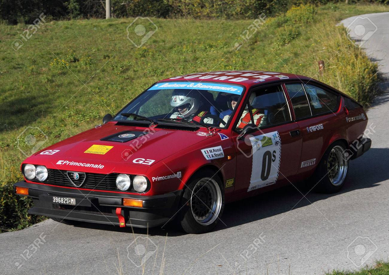 Racing Car Alfa Romeo Alfetta Gtv Stock Photo Picture And Royalty Free Image Image 57306452