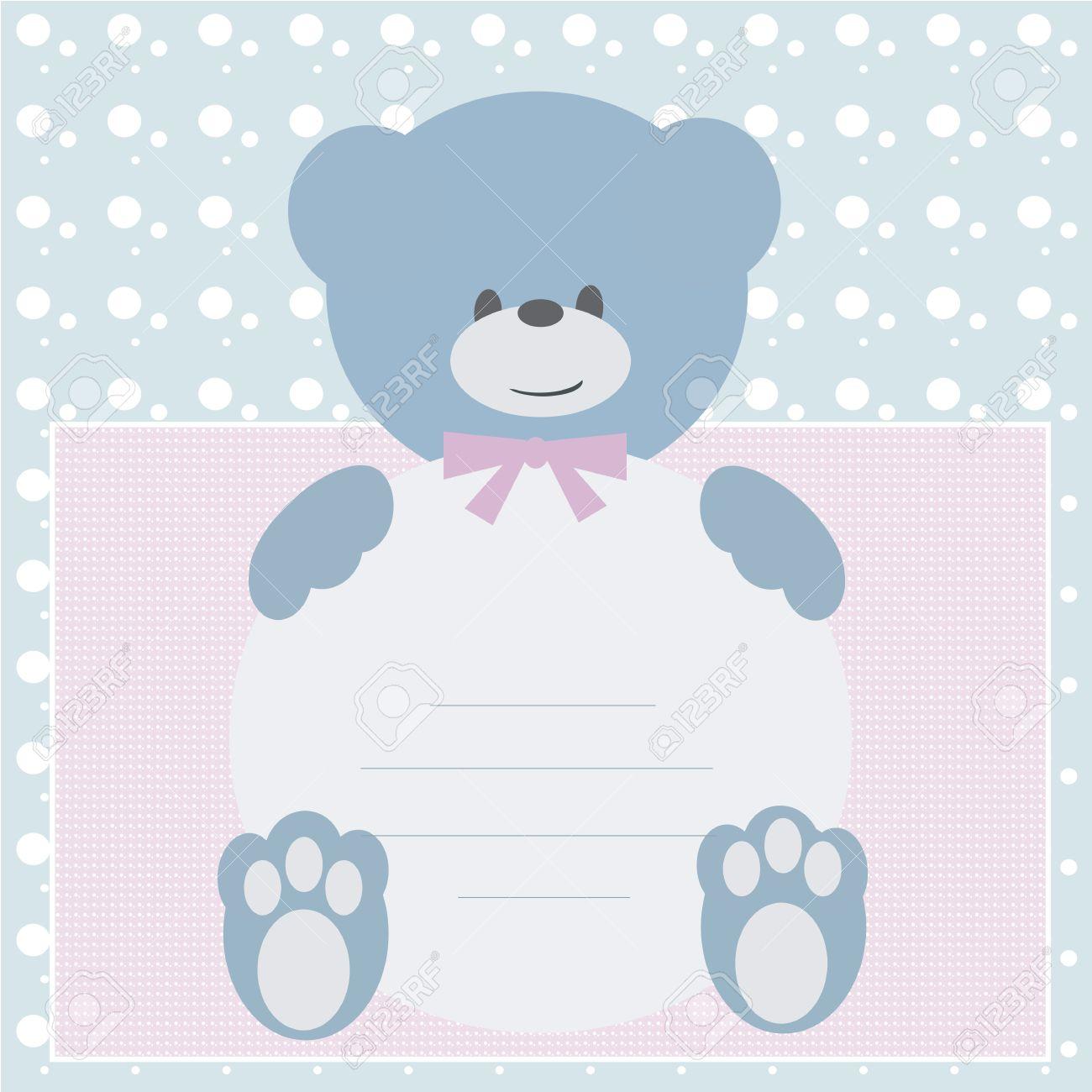 Baby shower invitation card royalty free cliparts vectors and baby shower invitation card stock vector 12467134 filmwisefo