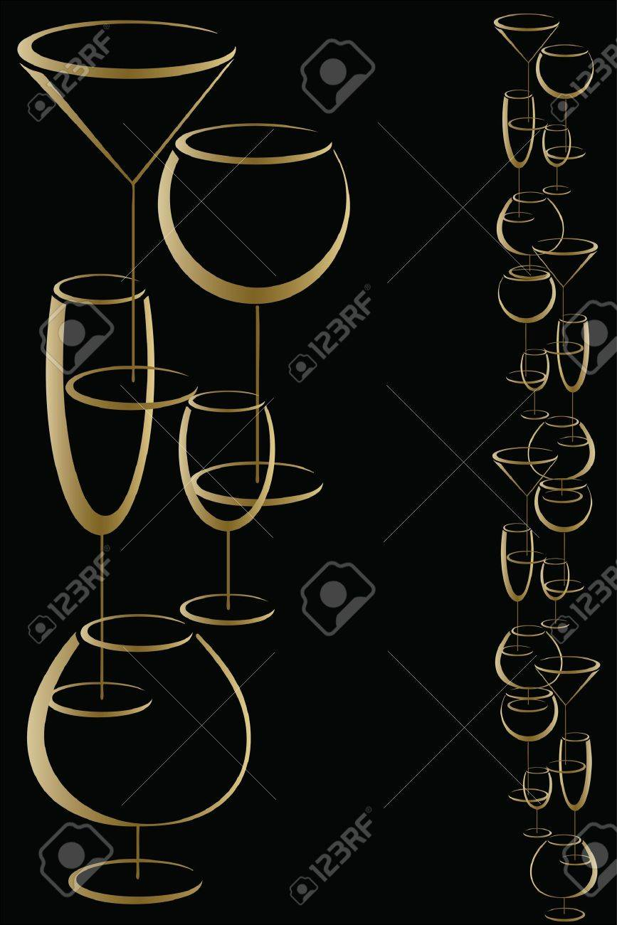 Bar wine card menu Stock Vector - 12765674