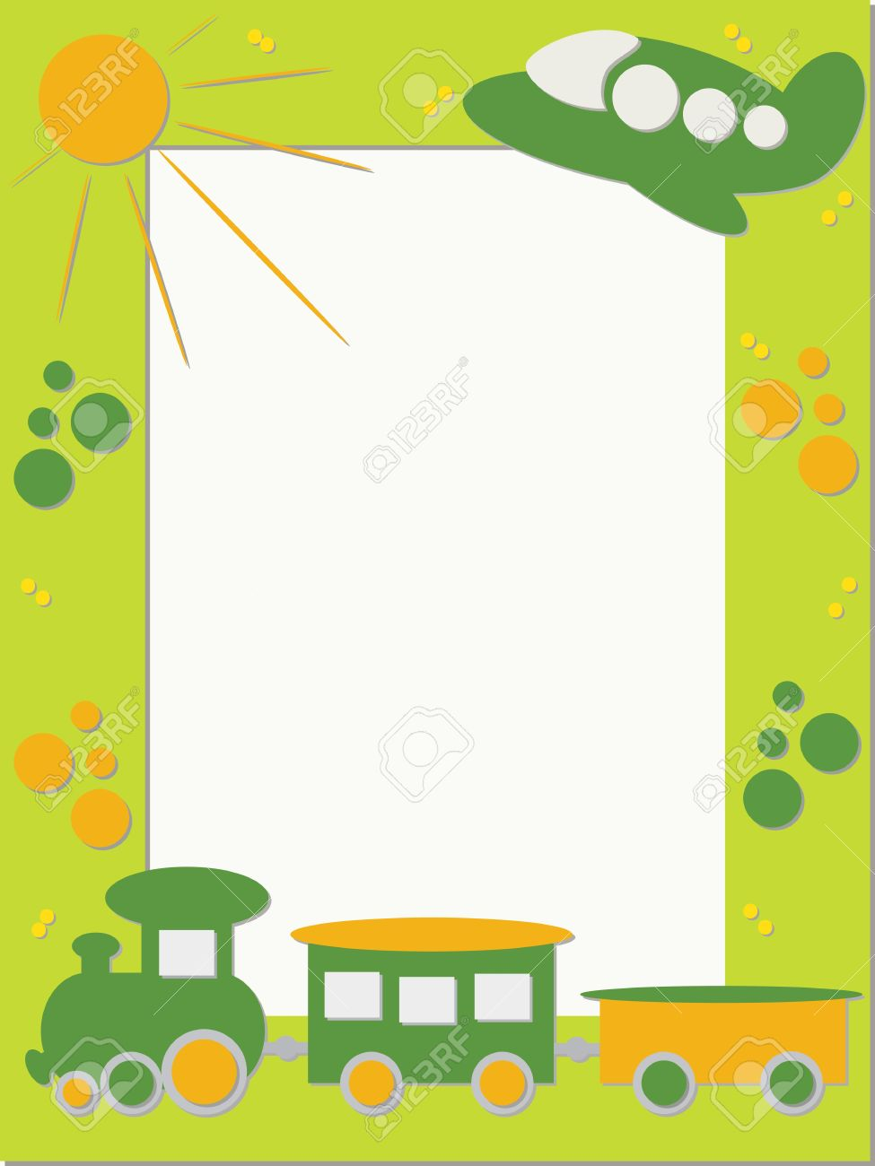 Children photo frame train and plane royalty free cliparts children photo frame train and plane stock vector 13739724 jeuxipadfo Gallery