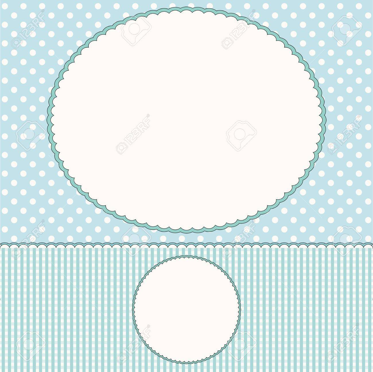Baby Background Pattern Vector pattern