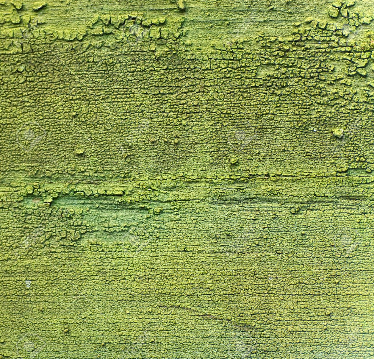 Abstract green wall paint peeling texture and background Stock Photo - 4500164