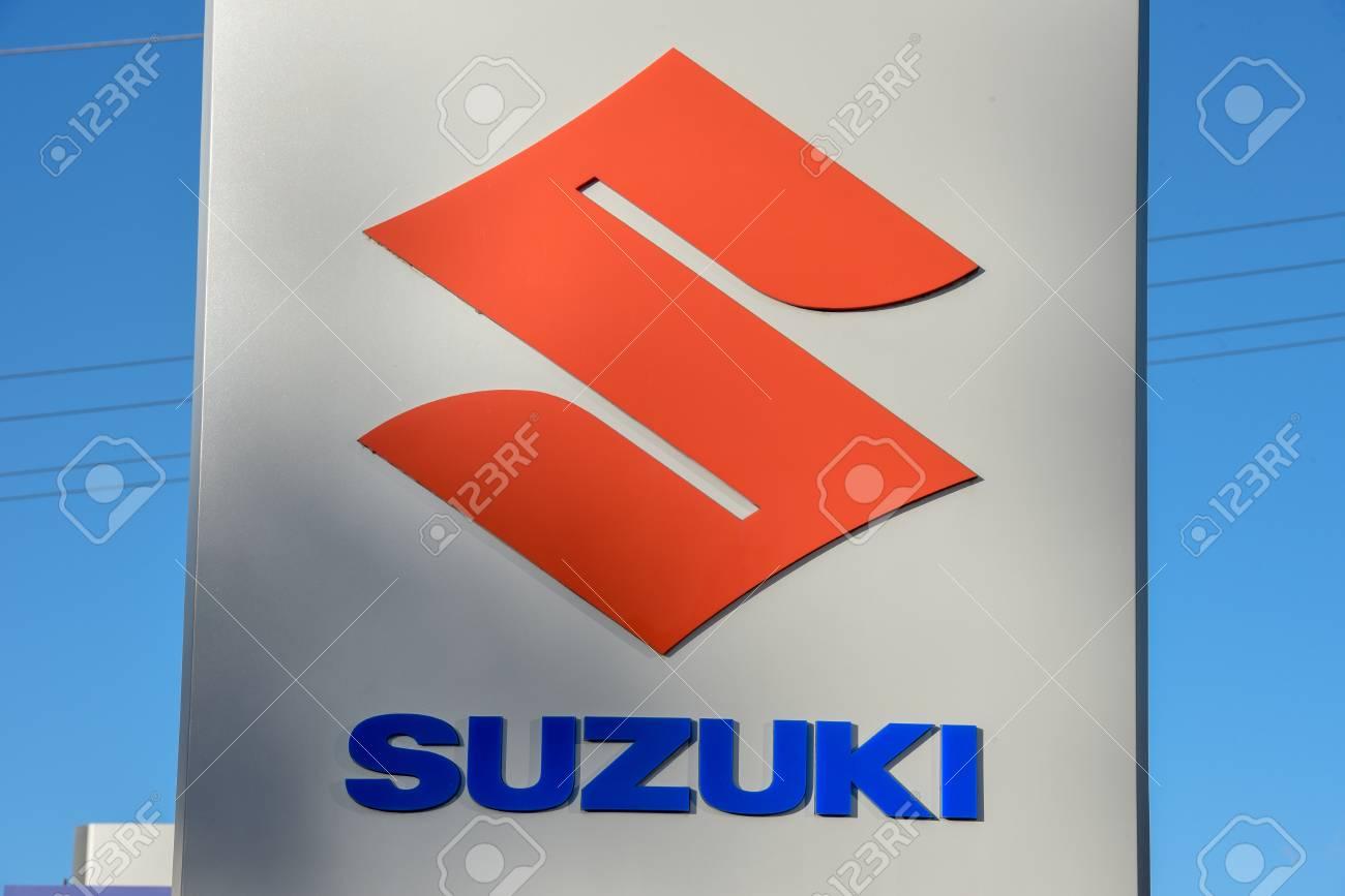 Suzuki Car Dealership >> Lugano Switzerland 24 October 2018 Logo Sign Of Suzuki Car