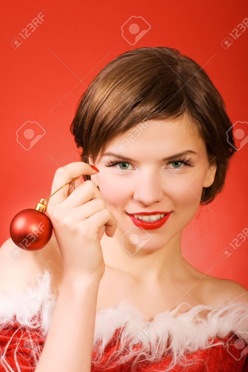 christmas girl Stock Photo - 1961789