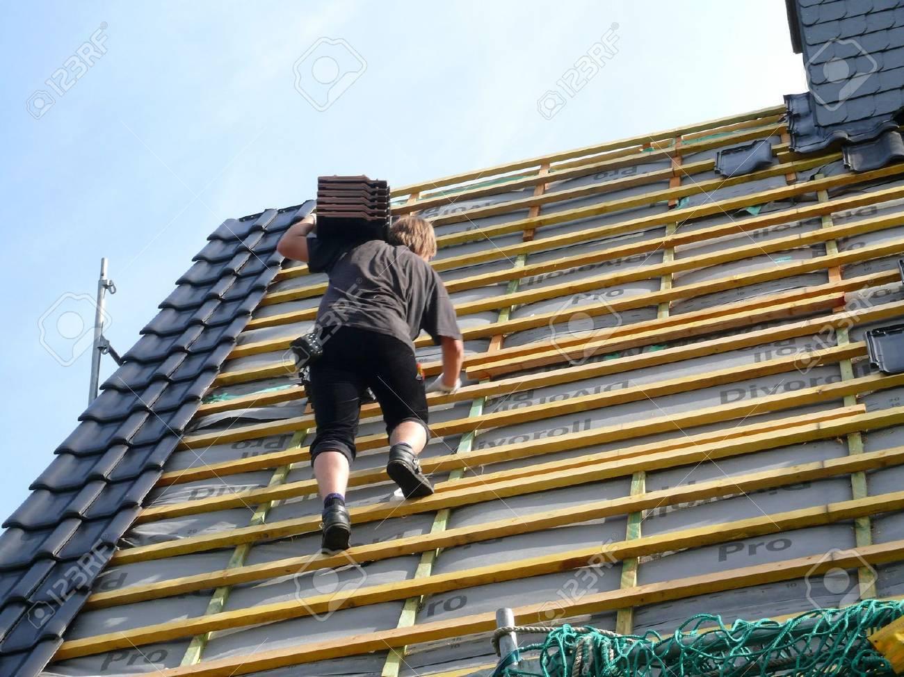 roof renovation Stock Photo - 5231444
