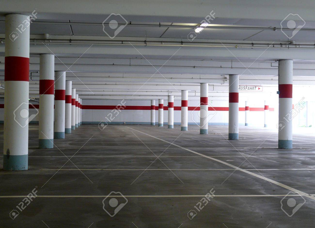 Parking deck Stock Photo - 7627216