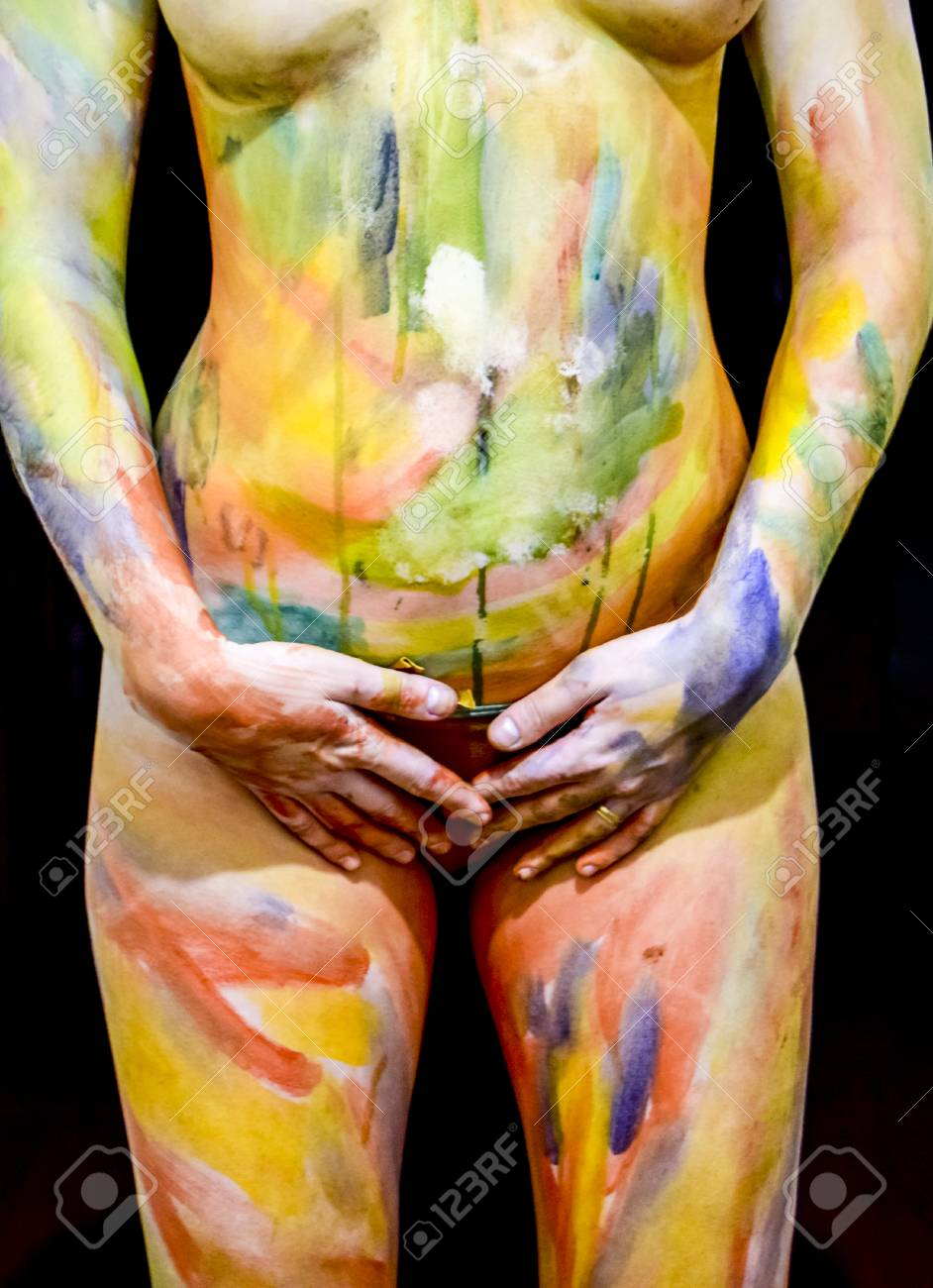 Body Art Drawing On The Body Beautiful Girl With Painted Body Stock Photo Picture And Royalty Free Image Image 92502920