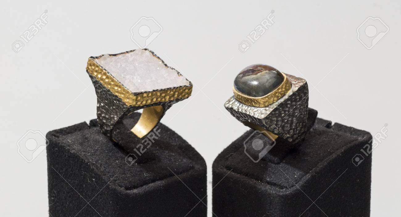chiaro e distintivo stati Uniti negozi popolari Colorata gemma bella donna anelli Designer di lusso