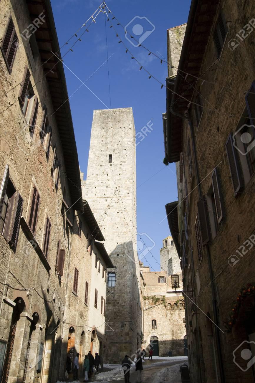 san gimignano tuscany italy Stock Photo - 11063474