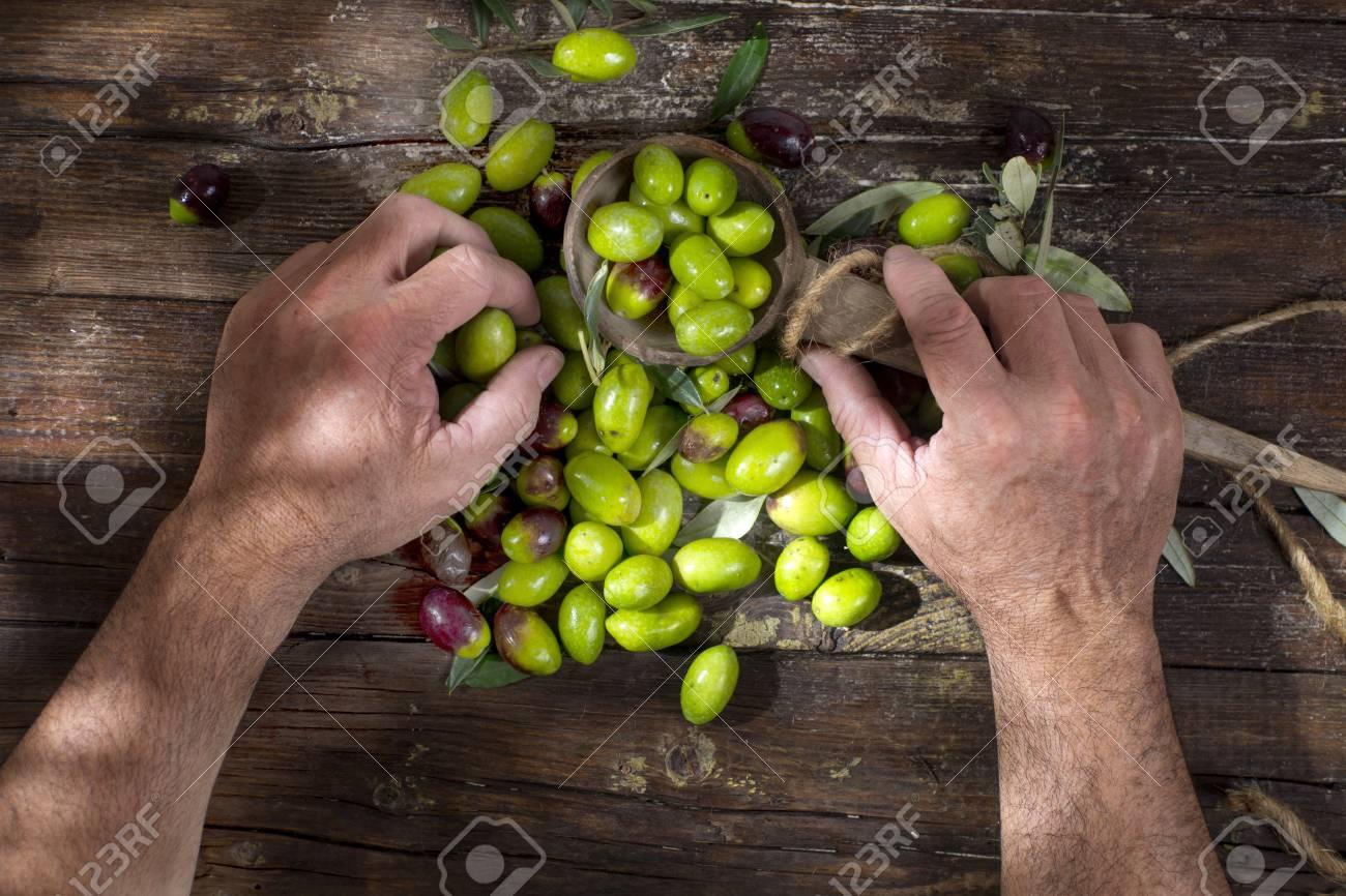 como preparar salmuera para aceitunas