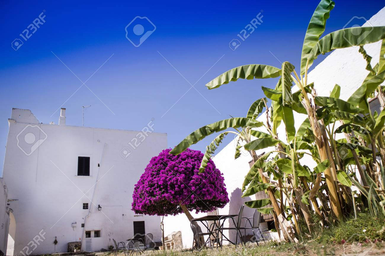 Particular Architectural Typical Of The Masseria In Puglia Zone Stock Photo Picture And Royalty Free Image Image 84204519