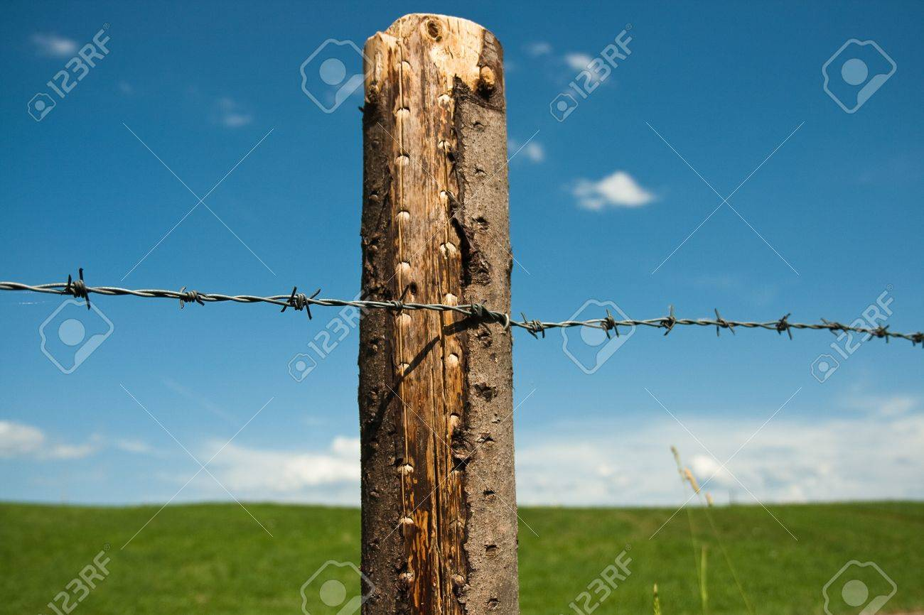Amazing German Barbed Wire Fence Sketch - Electrical and Wiring ...