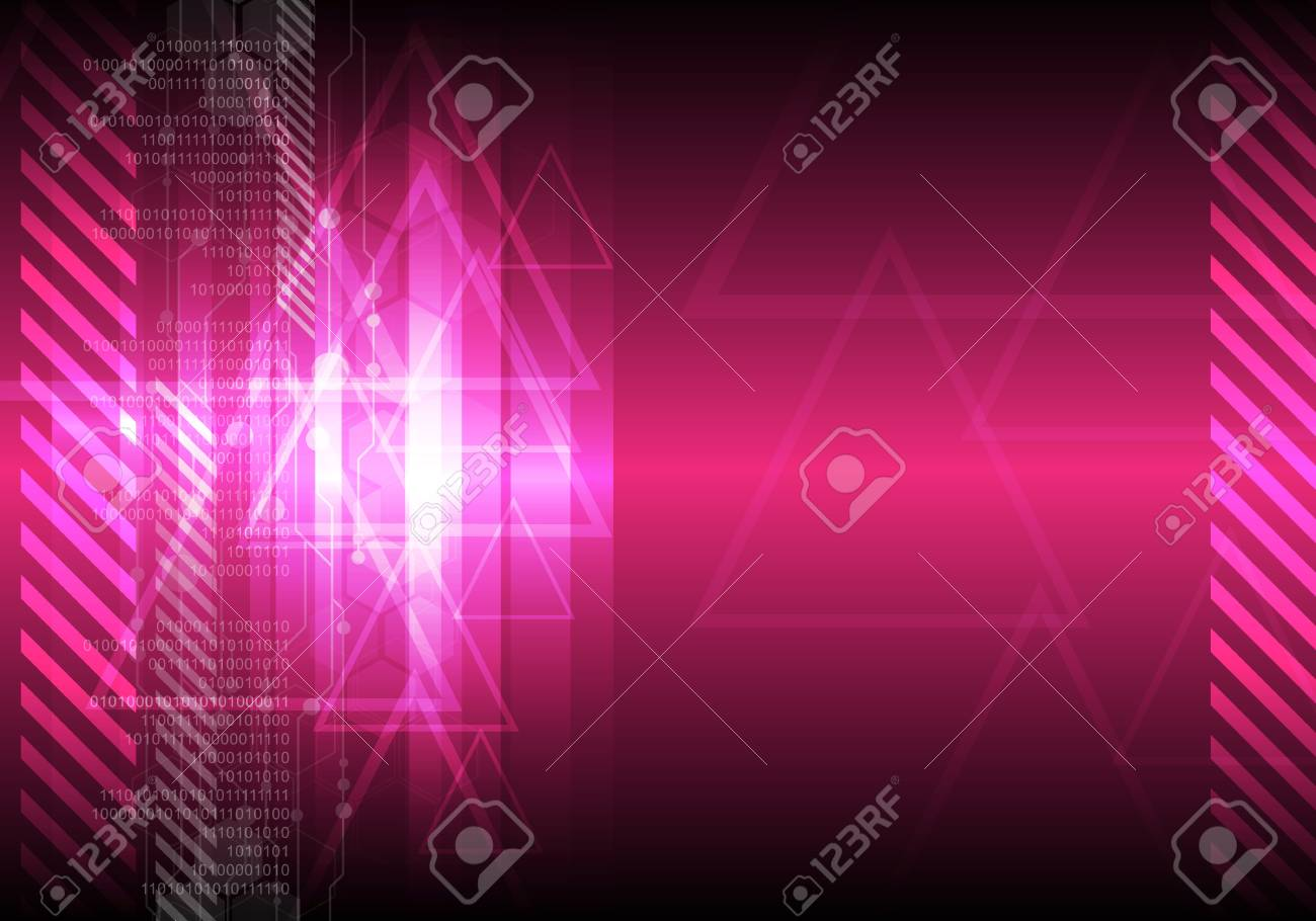 pink abstract background Stock Vector - 12872721