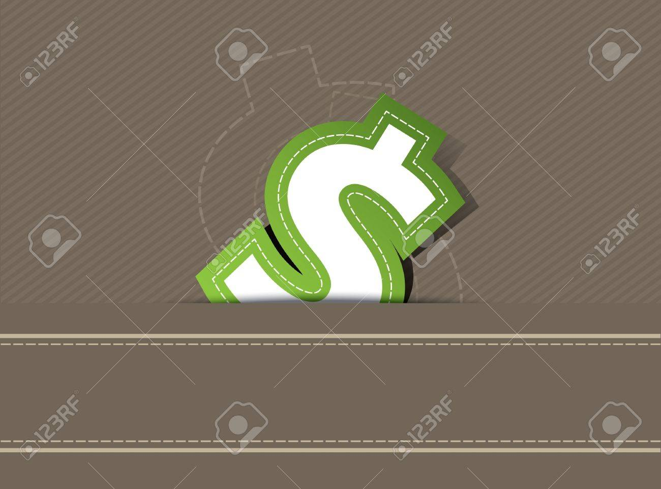 Money icon design on retro background Stock Vector - 13177430