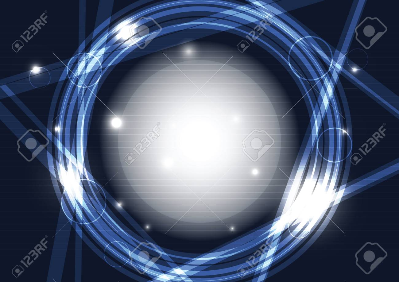 abstract circle frame Stock Vector - 13503983