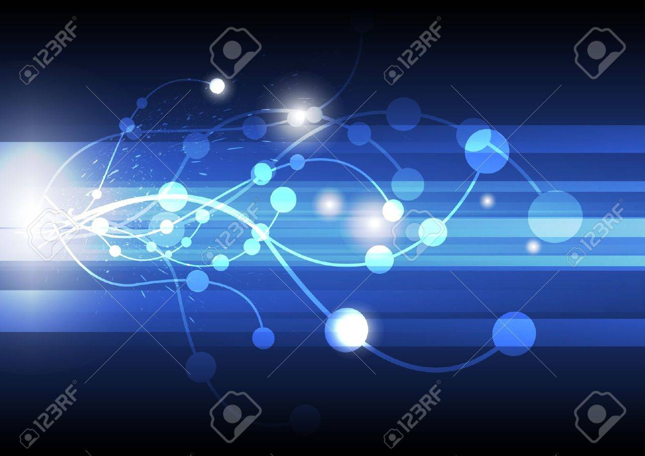 abstract line background Stock Vector - 15352253