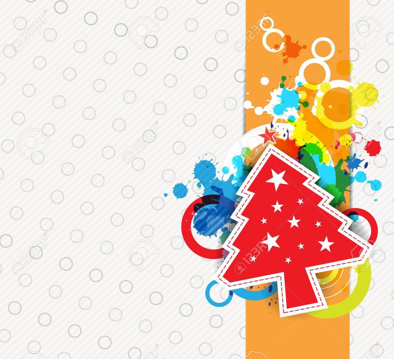 christmas background design Stock Vector - 15474038