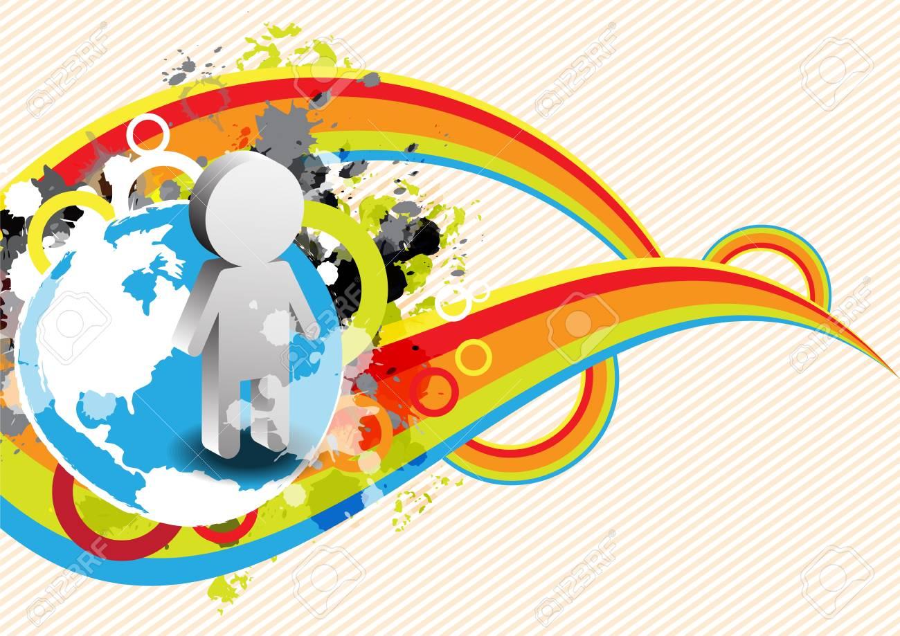 abstract retro banner design Stock Vector - 16219995