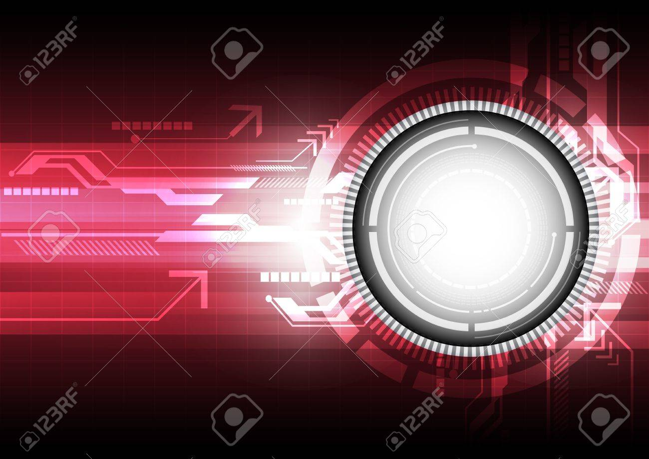 digital technology concept background Stock Vector - 16600613
