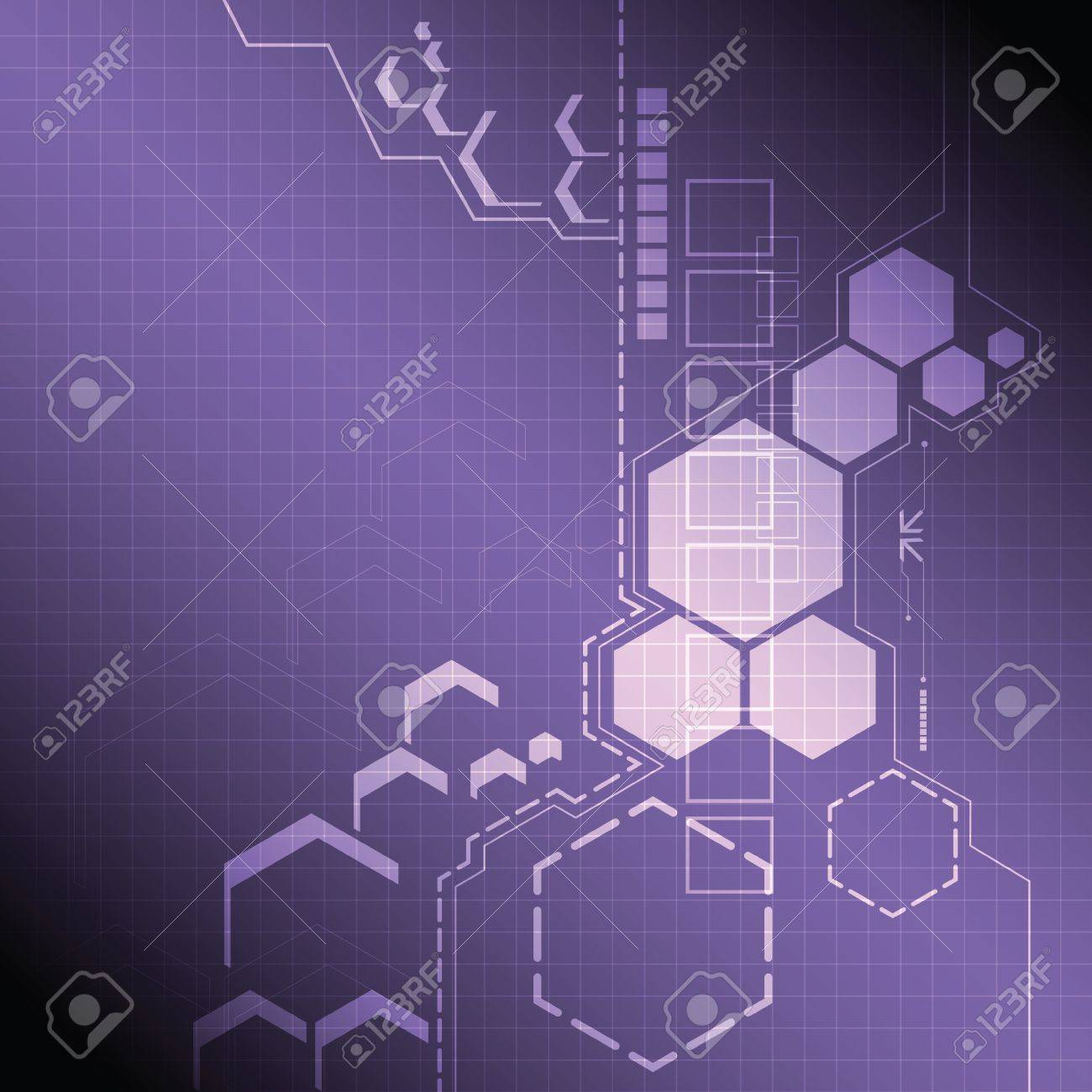 abstract technology background design Stock Vector - 20754657