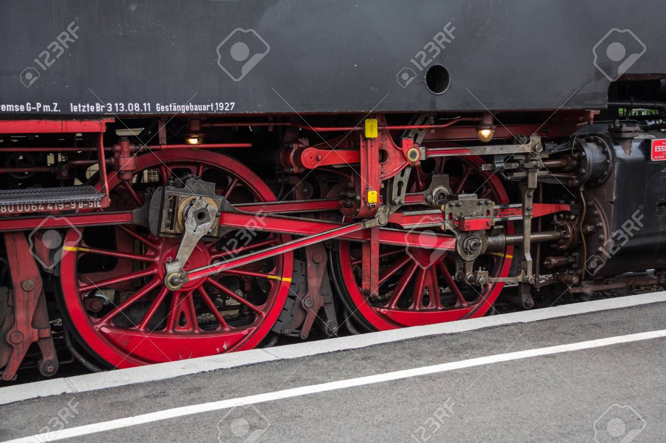 Nostalgia steam engine Stock Photo - 14210890