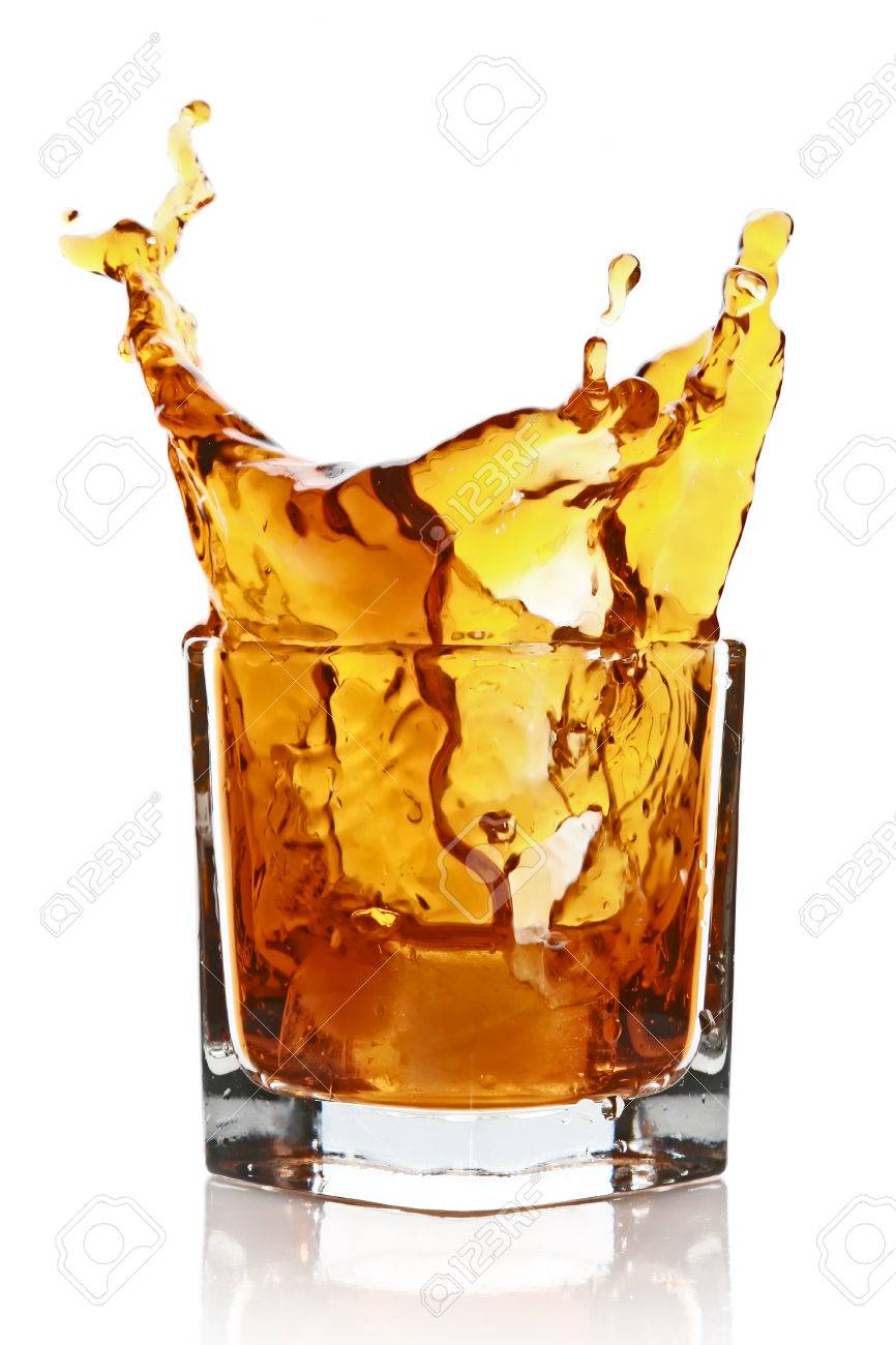 Stock Image Royalty A Free White Whisky Isolated On And Photo Image Picture Drink 25701988 Background With Splashing Glass