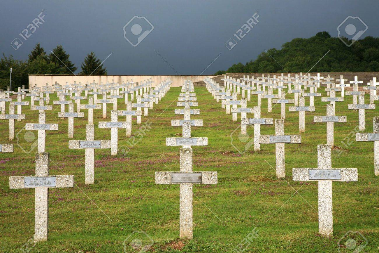 1st World War Graves in France First World War France