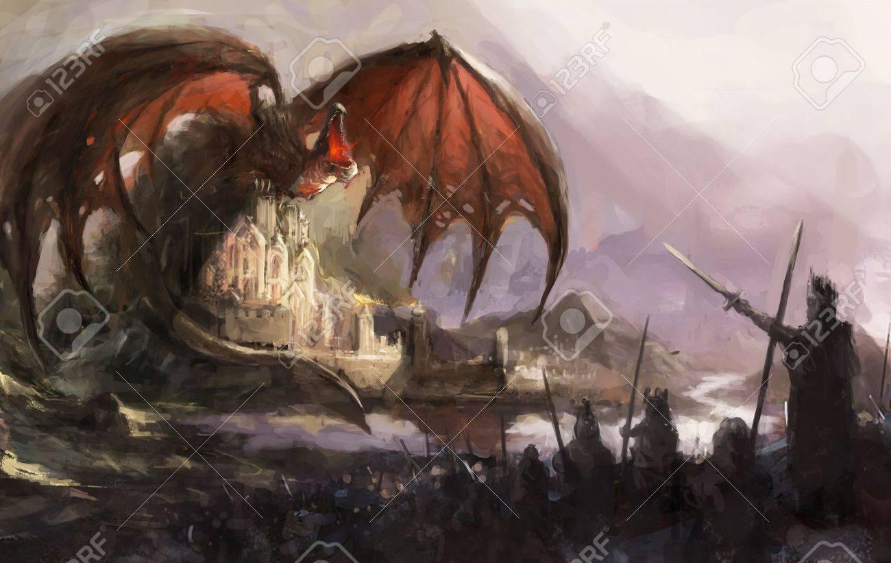 dragon Stock Photo - 11742636