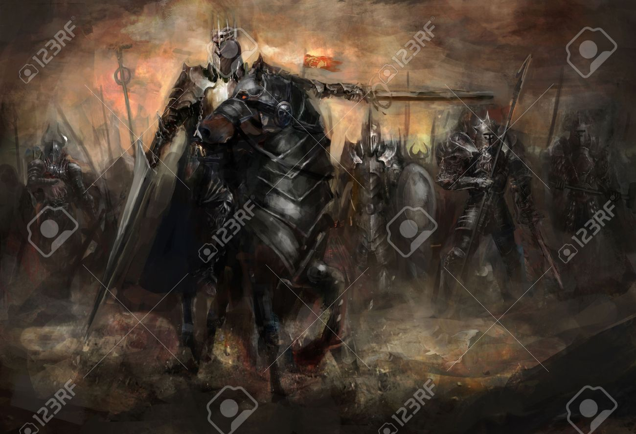 The King And His Army