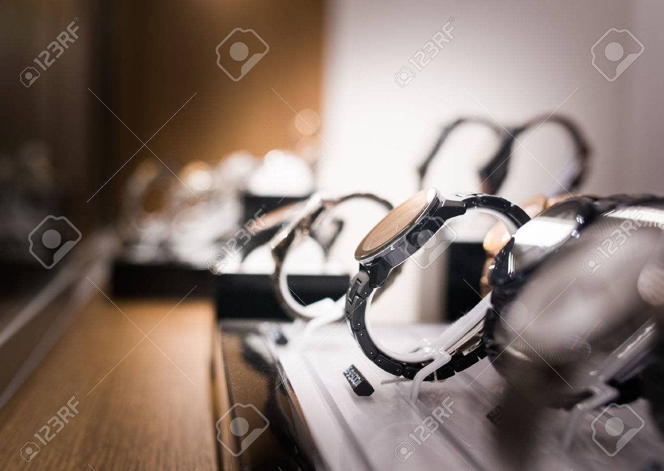 Wrist Watches in a luxury store - 71624922