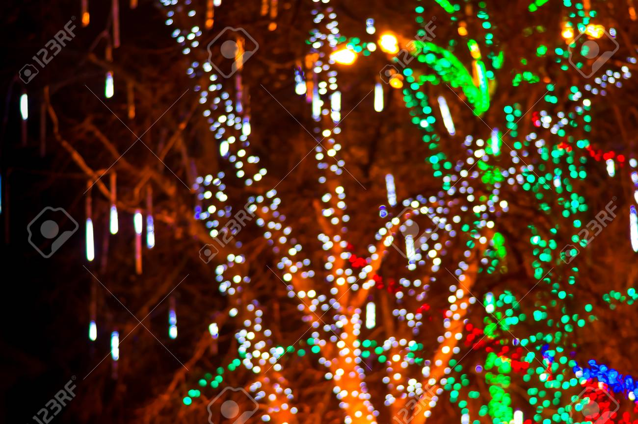 colorful beautiful multi colored christmas blur lights background stock photo 50175092
