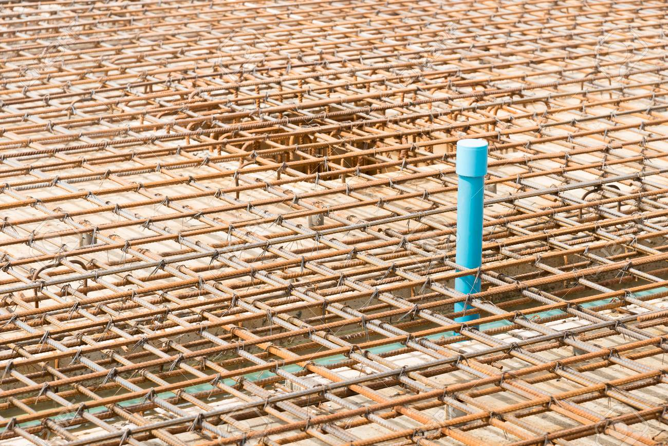 Reinforcement metal framework and pipe system for drainage under