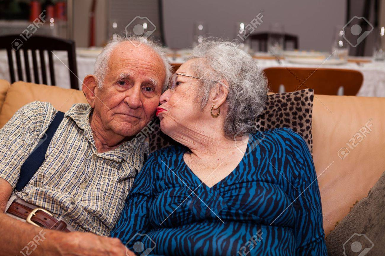 Outstanding Senior Citizen Couple Images Amp Stock Pictures Royalty Free Senior Hairstyles For Women Draintrainus