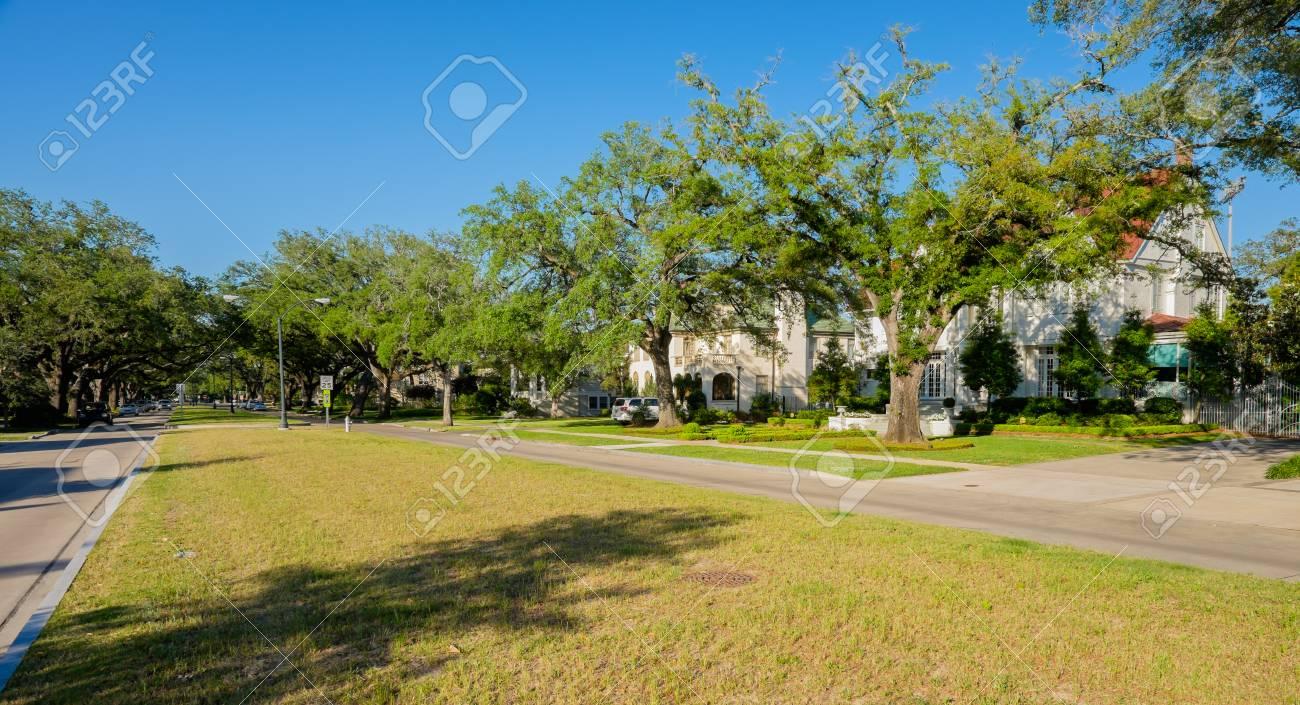 Typiques maisons de style sud de la Nouvelle-Orléans, en Louisiane.