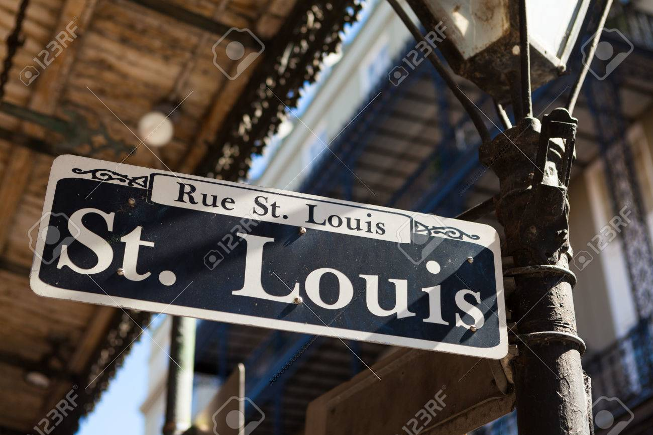 サン ・ ルイ通りは、ルイジアナ...