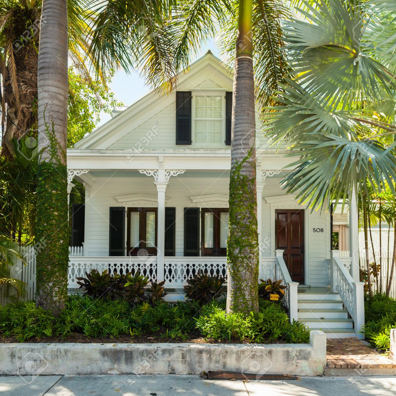 Key West, Florida USA - 3. März 2015: Ein Wunderschön Restauriertes ...