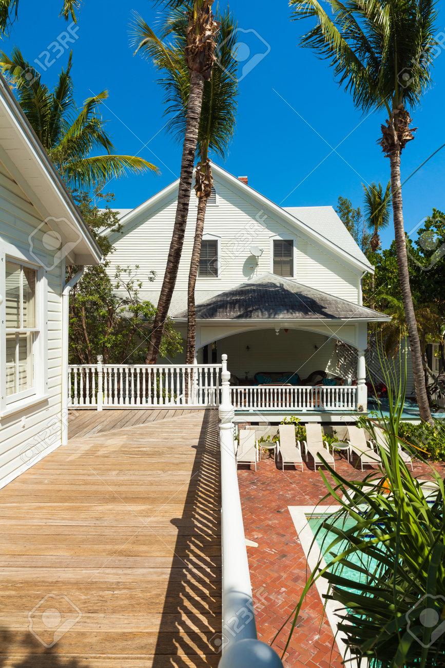 Key West, Florida USA - 2. März 2015: Ein Wunderschön Restauriertes ...