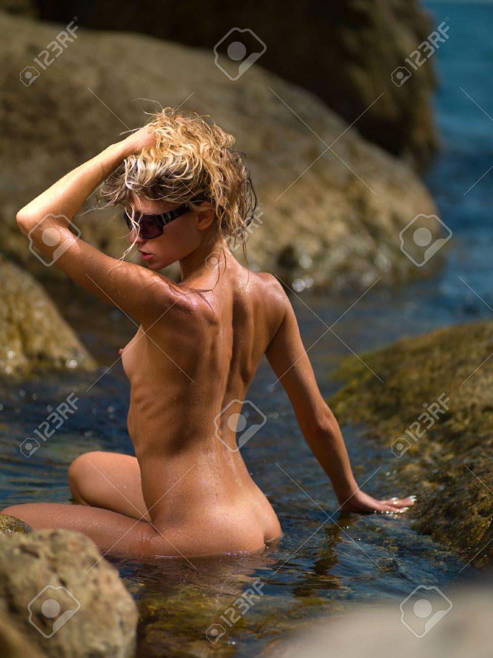 Porn girl wearing panty