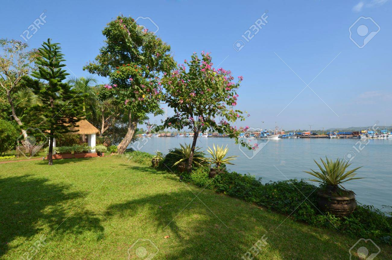 Photo magnificent landscape of Goa in India Stock Photo - 17899652