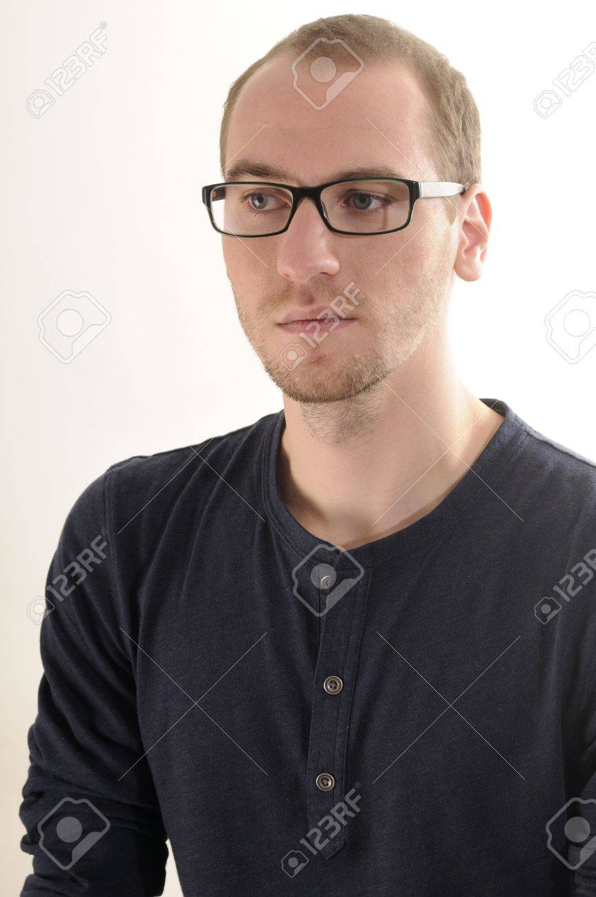 young  serious  man portrait Stock Photo - 11916850