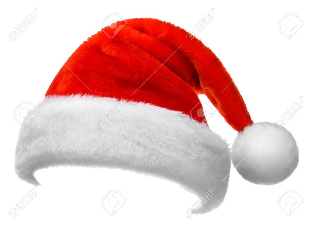 Santa hat isolated on white background - 48630721