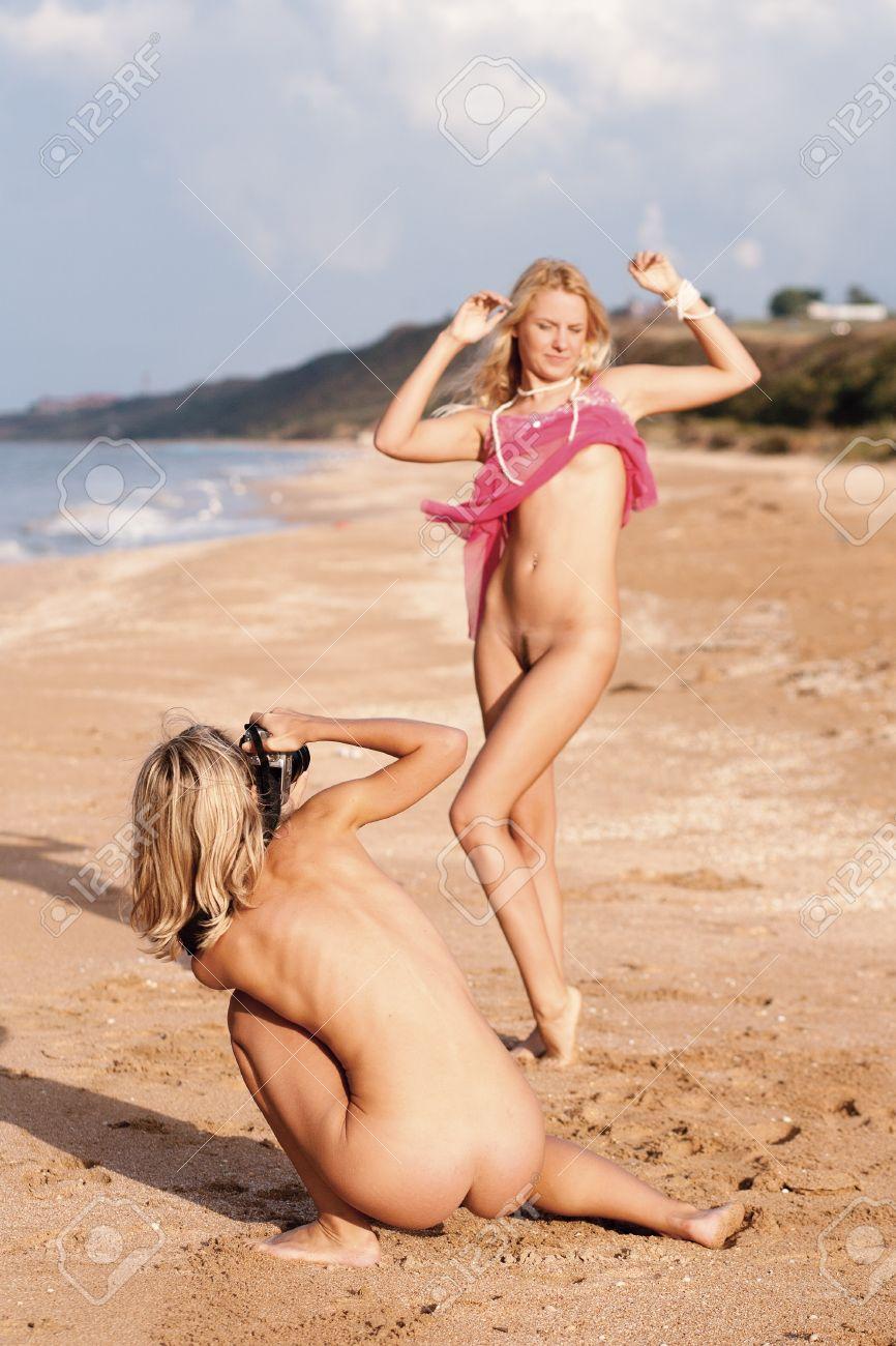 Photos of naked girls on beach