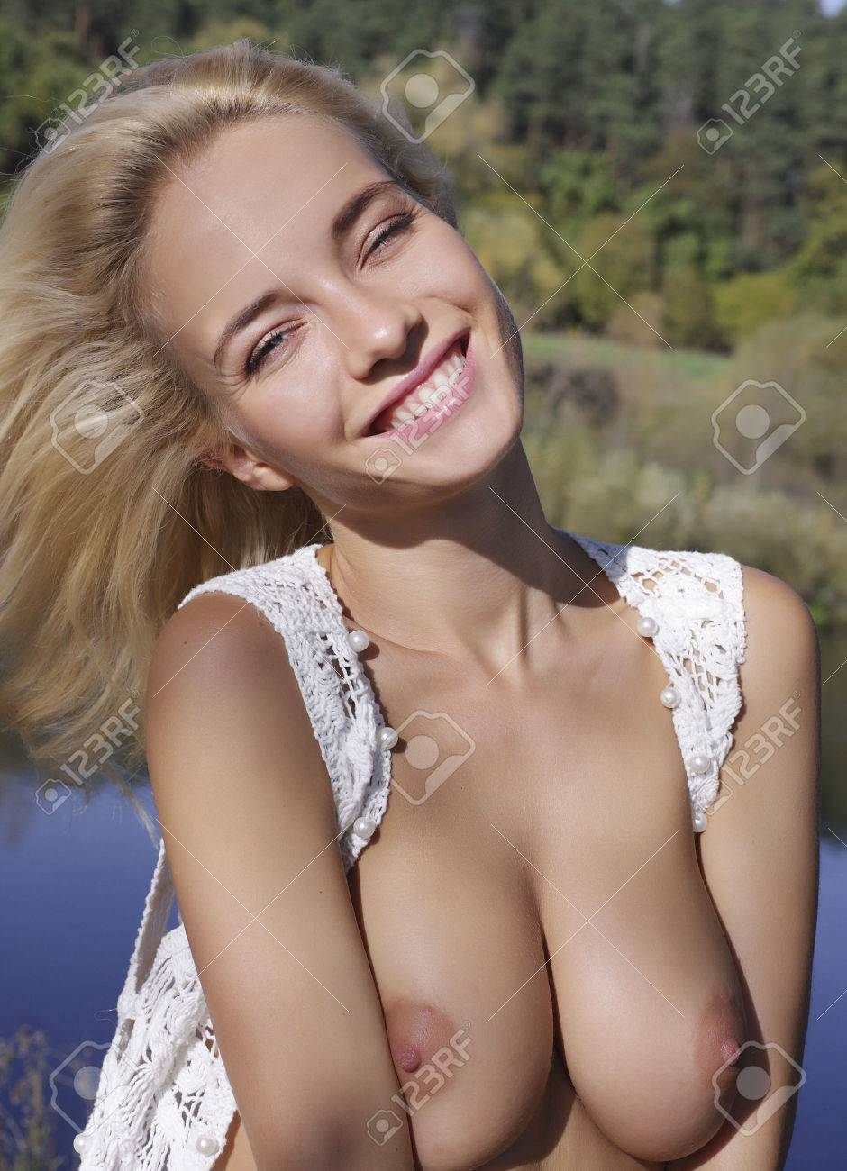 Nude Girl Portrait Of A Naked Woman Stock Photo Picture And