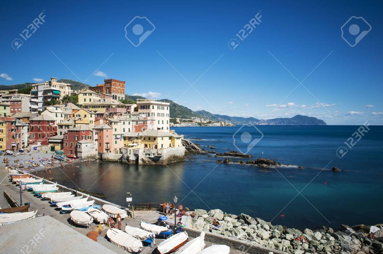ジェノヴァの海の姿。 ロイヤリ...
